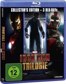 Iron Man Trilogie (Blu-ray), 3 Blu-ray Discs