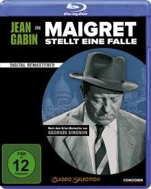 Maigret stellt eine Falle (Blu-ray), Blu-ray Disc