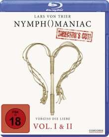 Nymphomaniac Vol. 1 & 2 (Director's Cut) (Blu-ray), 2 Blu-ray Discs