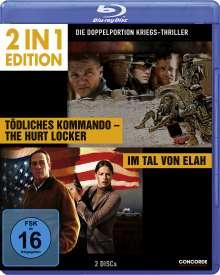 Tödliches Kommando - The Hurt Locker / Im Tal von Elah (Blu-ray), 2 Blu-ray Discs