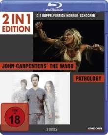 John Carpenter's The Ward / Pathology (Blu-ray), 2 Blu-ray Discs