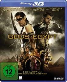 Gods Of Egypt (3D & 2D Blu-ray), 2 Blu-ray Discs