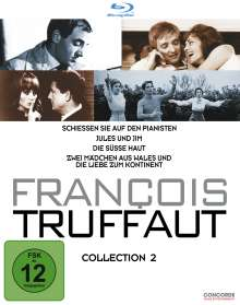 Francois Truffaut Collection 2 (Blu-ray), 4 Blu-ray Discs