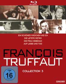 Francois Truffaut Collection 3 (Blu-ray), 4 Blu-ray Discs