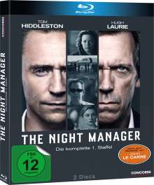 The Night Manager Season 1 (Blu-ray), 2 Blu-ray Discs