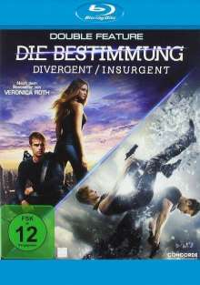 Die Bestimmung Double Feature (Blu-ray), 2 Blu-ray Discs
