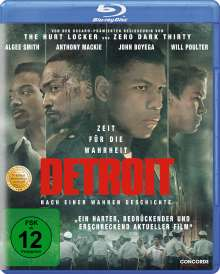 Detroit (Blu-ray), Blu-ray Disc