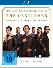 The Gentlemen (Blu-ray), Blu-ray Disc