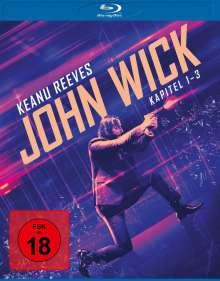 John Wick: Kapitel 1-3 (Blu-ray), 3 Blu-ray Discs