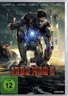 Iron Man 3, DVD