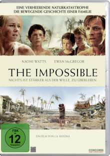 The Impossible, DVD