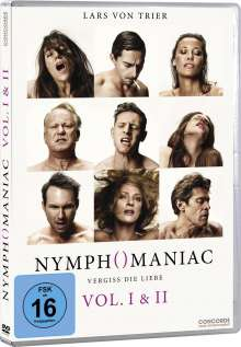 Nymphomaniac Vol. 1 & 2, 2 DVDs