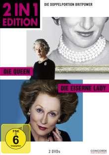 Die Queen / Die Eiserne Lady, 2 DVDs