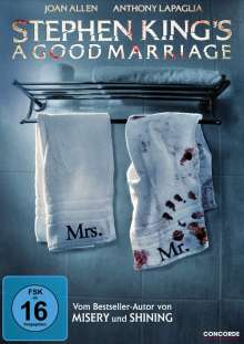 Stephen King's A Good Marriage, DVD