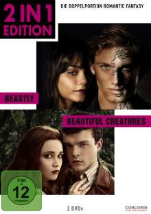 Beastly / Beautiful Creatures, 2 DVDs