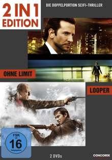 Ohne Limit / Looper, 2 DVDs