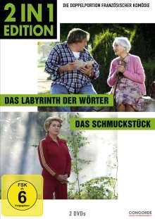 Das Labyrinth der Wörter / Das Schmuckstück, 2 DVDs
