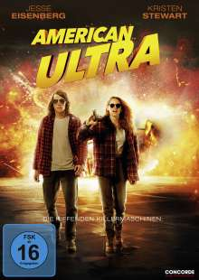American Ultra, DVD