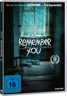 I remember you, DVD