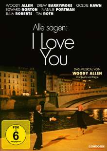 Alle sagen: I Love You, DVD
