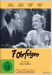 7 Ohrfeigen, DVD