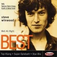 Steve Winwood: Well, All Right: Best, CD