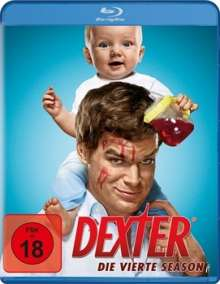 Dexter Season 4 (Blu-ray), 4 Blu-ray Discs
