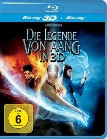 Die Legende von Aang  (2D & 3D Blu-ray), 2 Blu-ray Discs
