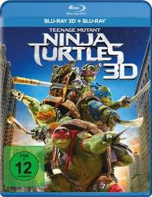 Teenage Mutant Ninja Turtles (2014) (3D & 2D Blu-ray), 2 Blu-ray Discs