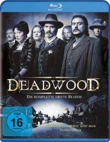 Deadwood Season 3 (Blu-ray), 3 Blu-ray Discs