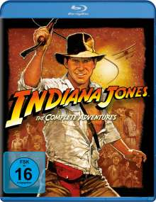 Indiana Jones: The Complete Adventures (Blu-ray), 4 Blu-ray Discs