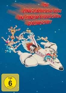Die unglaubliche Reise in einem verrückten Raumschiff, DVD