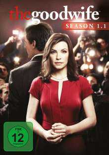 The Good Wife Season 1 Box 1, 3 DVDs