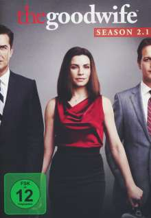 The Good Wife Season 2 Box 1, 3 DVDs