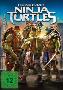 Teenage Mutant Ninja Turtles (2014), DVD