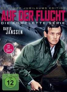 Auf der Flucht (Komplette Serie), 32 DVDs