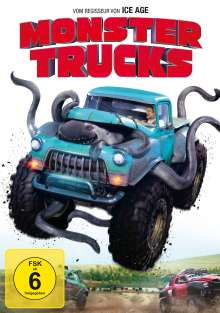 Monster Trucks, DVD