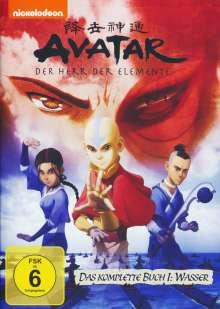 Avatar Buch 1: Wasser (Gesamtausgabe), 5 DVDs