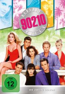 Beverly Hills 90210 Season 2, 8 DVDs