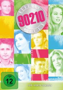 Beverly Hills 90210 Season 4, 8 DVDs