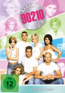 Beverly Hills 90210 Season 7, 7 DVDs
