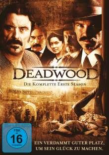 Deadwood Season 1, 4 DVDs