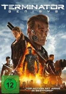 Terminator: Genisys, DVD