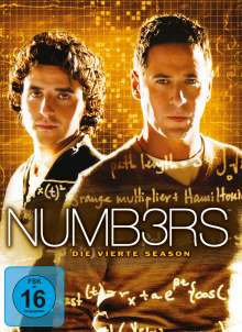 Numb3rs Season 4, 5 DVDs
