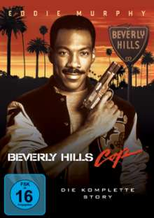Beverly Hills Cop 1-3, 3 DVDs