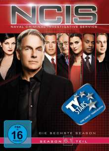 Navy CIS Season 6 Box 1, 3 DVDs