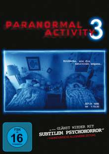 Paranormal Activity 3, DVD