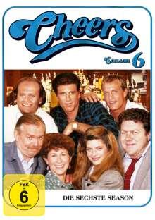 Cheers Season 6, 4 DVDs