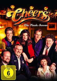 Cheers Season 11 (finale Staffel), 4 DVDs