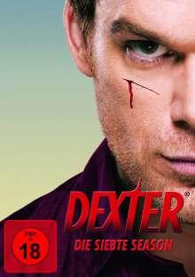 Dexter Season 7, 4 DVDs
